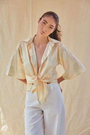 Camisa El Trigo Diana Taborda