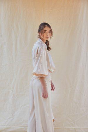 Body con blusa cruzada Diana Taborda